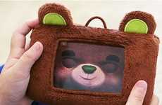 Stuffed Toy Smartphone Cases - The HappiTaps Beary Happi Keeps Devices Protected from Toddlers