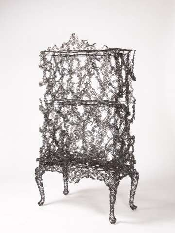 Eclectic Wire-Frame Furnishings