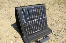 Outlet-Imitating Eco Chargers - The SunVolt Solar Power Station Charges Multiple Gadgets at Once