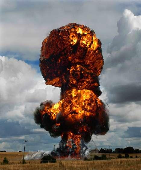 Gamer-Inspired Explosion Captures