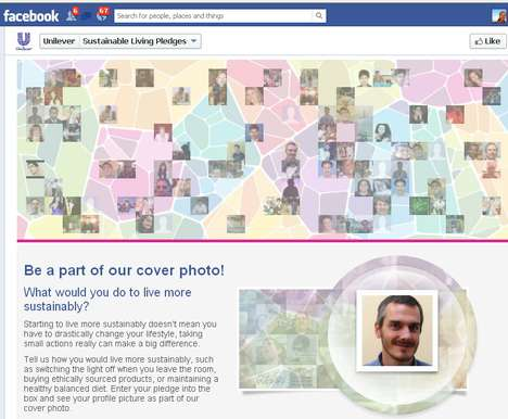 Interactive Cover Photos - Unilever Engages Eco-Minded Fans With Interactive Facebook Timeline