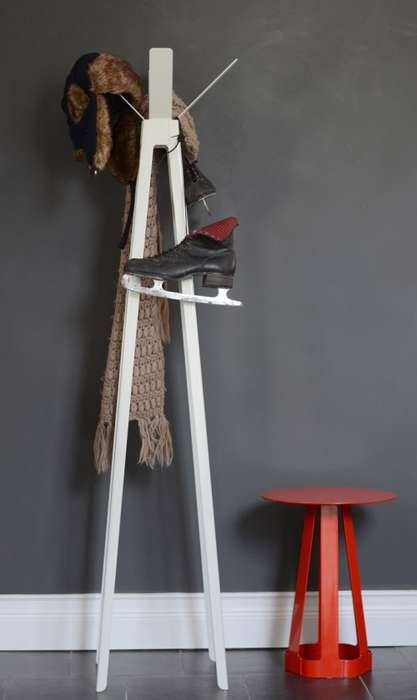 Sleek Splayed Hatstands
