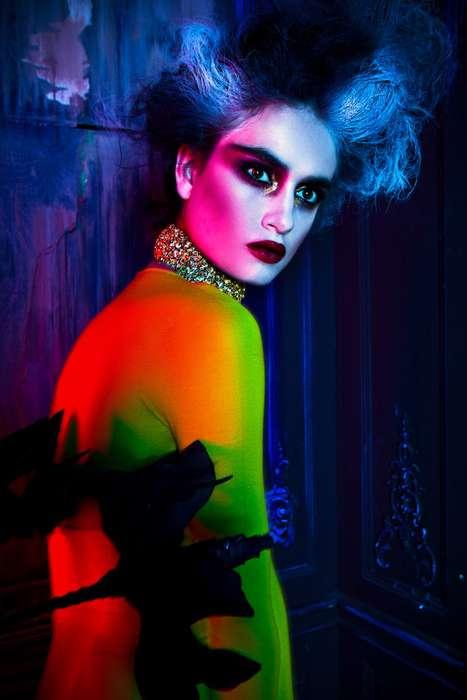 Kaleidoscopic Fairytale Fashion