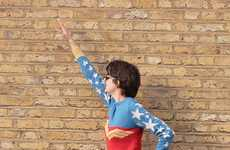 DIY Superhero Jumpers - The Retro Wonder Woman Sweater Requires Knitting Skills