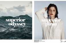Nature-Comparing Fashion Ads - The Supima Superior Pima Campaign Promotes Epic Cotton