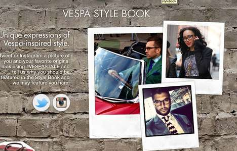 Scooter Lifestyle Hubs - Vespa USA's La Vespa Vita Website Offers Style, Photos & Content