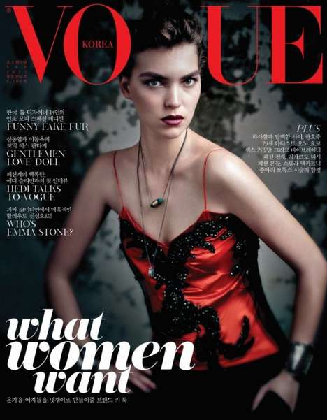 Sundown Rider for Vogue Korea September 2012 Channels the Fairytale