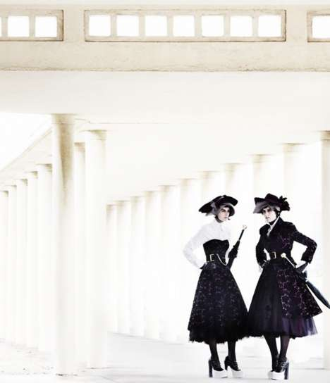 Layered Victorian Fashion