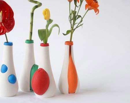 Balloon-Filled Vases