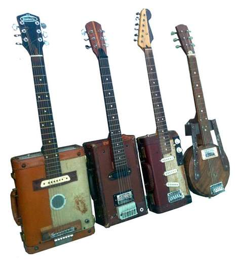 Jeff Conley's Suitcase Guitars are Perfect for the Traveling Musi