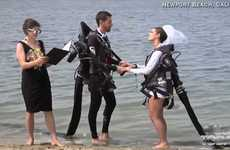 Jet Pack Wedding Ceremonies