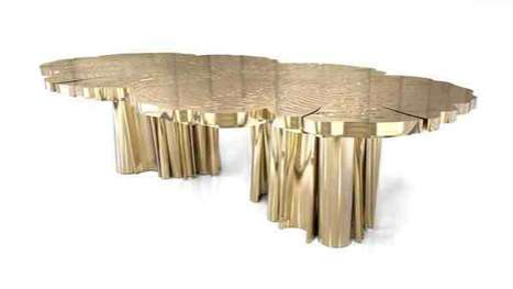 Midas Touch Tree Tables - Boca De Lobo Creates a Unique Luxury Piece of Furniture