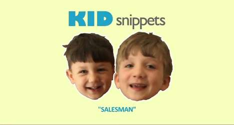 Child Voice-Over Viral Videos - The Tot-Improvised 'Kid Snippets: Salesman' Clip by BoredShortsTV
