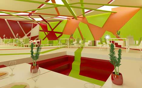 Vibrant Geometric Interiors