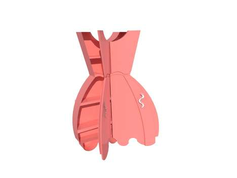 Girly Gown-Shaped Furniture - The Teyla Cabinet is Adorable and Feminine