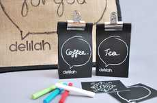 Chalkboard Brew Bags - Delilah DIY Hamper Packaging Lets Retailers and Customers Get Creative