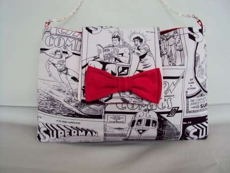 Feminine Accessories for Superman Lovers by RebelDowntown