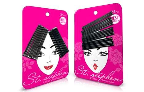 Stylish Bobby Pin Packaging