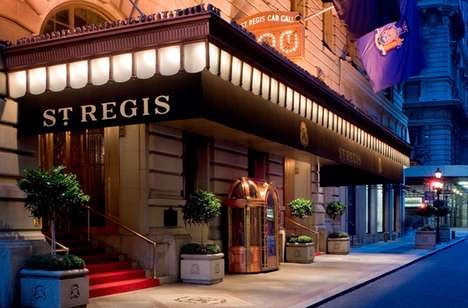Car-Including Hotel Rooms - The St. Regis Hotel Bentley Suite Comes Complete with Auto Access