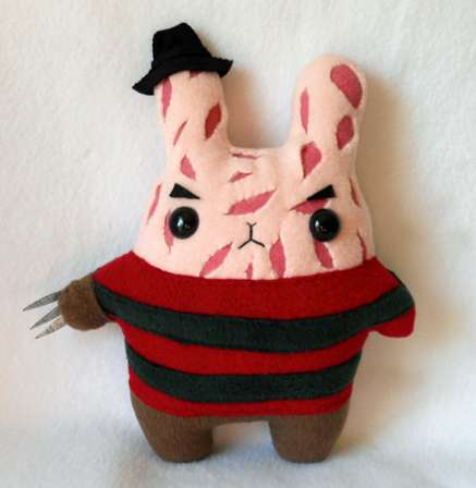 Horror-Inspired Toys - The Michelle Coffee Halloween Plush Toys are Scary