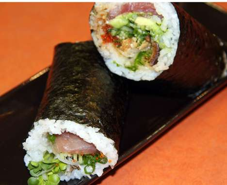 Savory Latin-Fused Sushi - Sushiritto San Francisco Makes Burrito Style Rolls