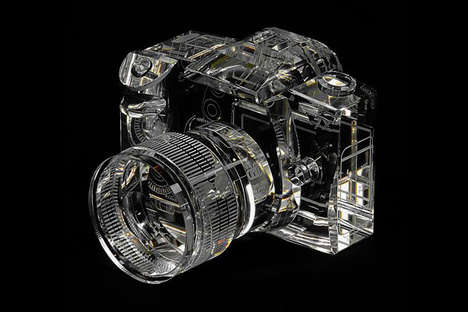 The Crystal Clear Canon 7D Replica is Unbelievably Hand Carved
