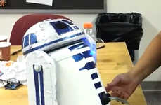 DIY Sci-Fi Drink Coolers - The R2D2 Beverage Dispenser Quenches Your Star Wars Thirst