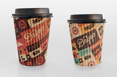 Sleeveless Coffee Cups - Salih Kucukaga Designs Beverage Holders that are Innately Heat Resistant