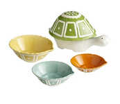 Reptile-Themed Bakeware - These Ceramic Turtle Measuring Cups are Sure to Get You Out of Your Shell