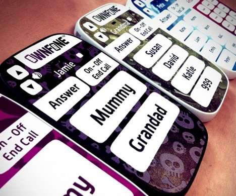 Ultra-Simplified Kid Phones