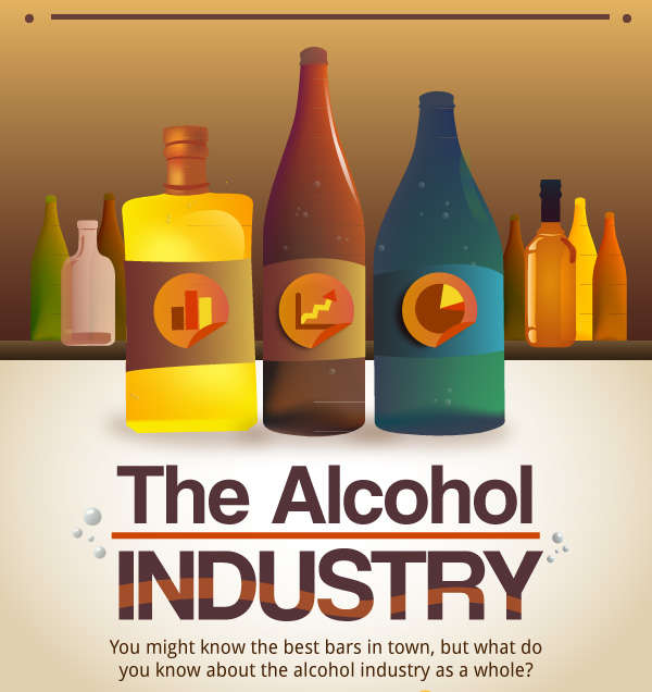 15 Alluring Alcohol Infographics