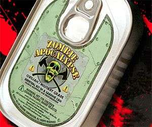 The Sardine Can O' Zombie Apocalypse Survival Kit Saves Lives