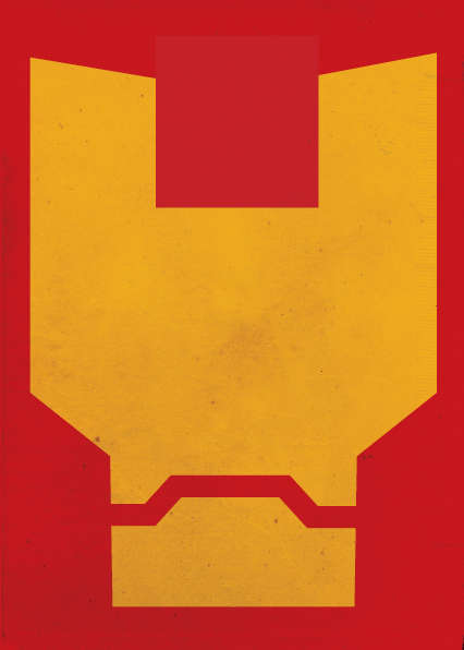 Minimalist Superhero Masks - Rafael Barletta Depicts Comic Characters' Faces with Basic Shapes