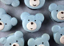 Cuddly Creature Pastries - The Bakerella Bear Macaron is Beary Adorable
