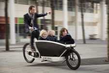 Electrified Dutch Cargo Bikes - The Urban Arrow 250-Watt Motor Makes Hauling Children and Cargo Easy