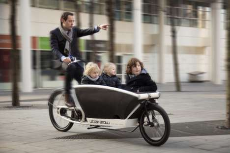 Electrified Dutch Cargo Bikes