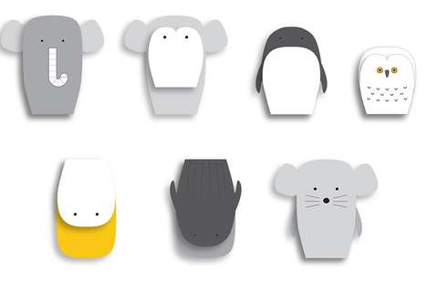 Plywood Pancake Playthings - Yang:Ripol Flat Zoo Toys Feature Few Bells and Whistles