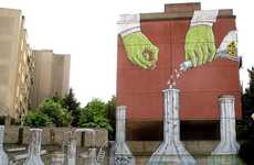 Mad Scientist Militarism Murals