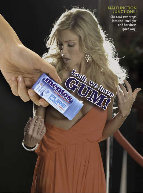 Nudity-Concealing Candy Campaigns