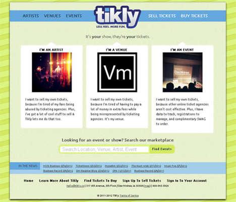 Direct-Sale Event Tickets - Tikly Lets You Purchase Tickets Right From Bands' Facebook Pages
