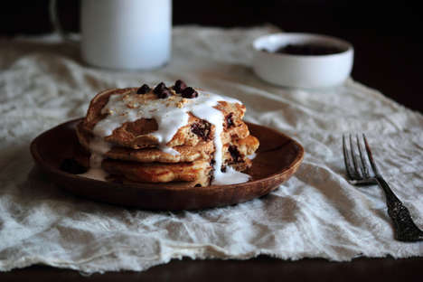 Gooey Campfire Flapjacks - The Pastry Affair S'mores Pancakes are Heavenly and Over-the-Top