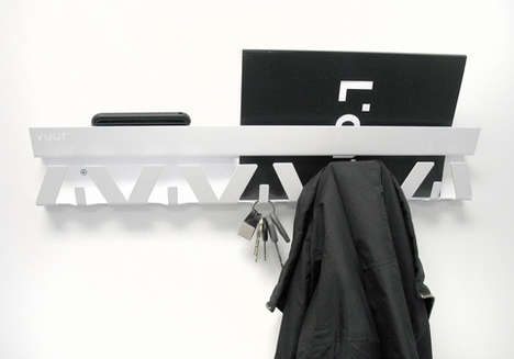 V-Shaped Hangers - The Hang Up Wall Organizer From Vuur is Chic