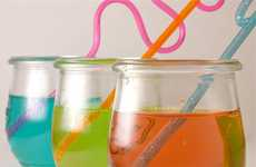 Carbonated Carnival Cocktails - The EasyBaked Cotton Candy Fizz Drink is Festive and Kid-Friendly