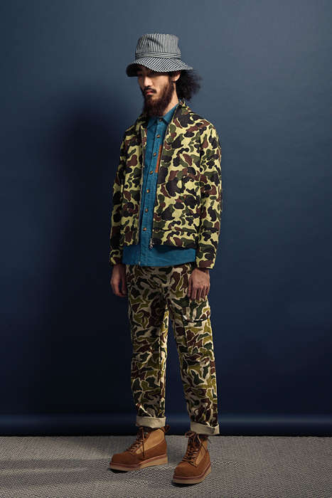 Urban Hipster Camouflage Couture - Get Lost with the Latest wisdom Fall/Winter Collection