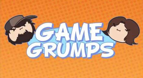 Comedic Retro Gaming Commentaries - Game Grumps Features the Improvised Humor of Two YouTube Stars