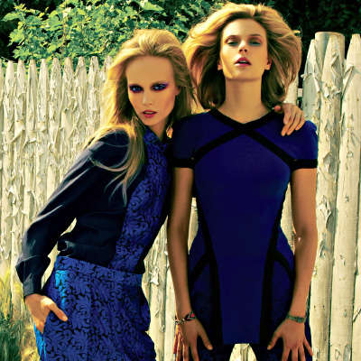 Backyard Glam Editorials - The Girls Next Door by Herring & Herring for Kurv is Whimsical