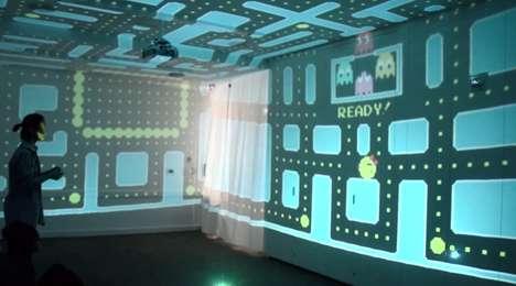 Retro Arcade Art Installations