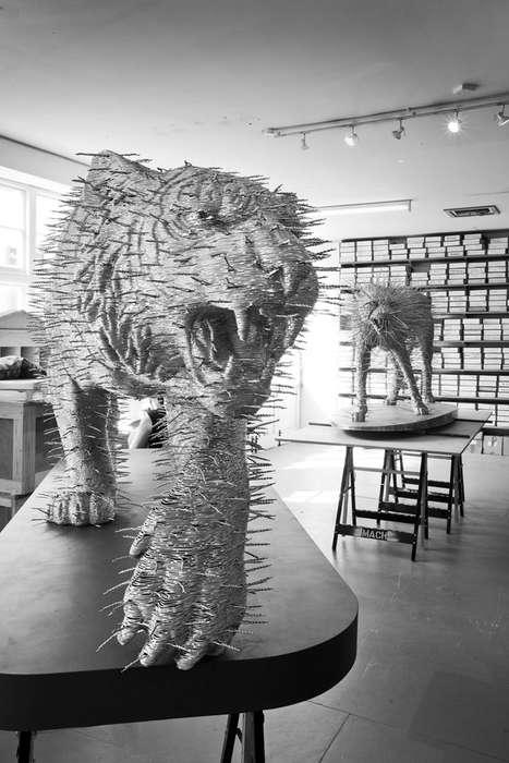 Spiky Feline Sculptures (UPDATE)
