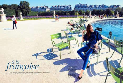 Color-Filled Paris Captures