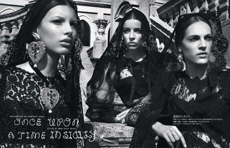 The Vogue Japan 'Once Upon a Time in Sicily' Editorial Shows Italian Style